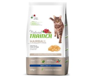 Trainer natural cat hairball chicken 1