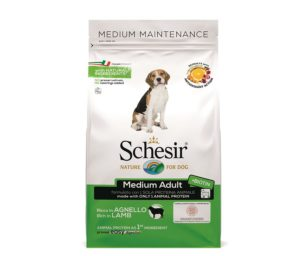 Schesir medium maintenance lamb 3 kg.