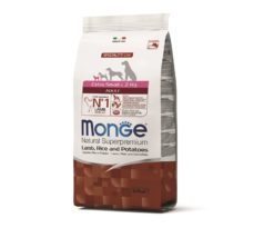 Monge extra small adult agnello/riso/patate 800 g.