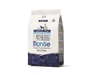 Monge medium puppy 800 g.