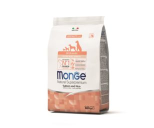 Monge all breeds puppy salmone/riso 800 g.