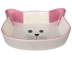 Ciotola in ceramica musetto di gatto cm 12.