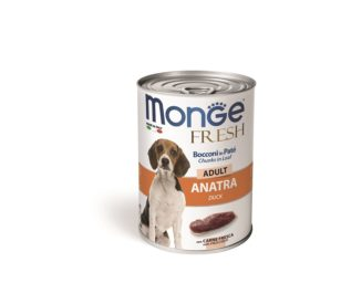 Monge fresh adult anatra 400 g.