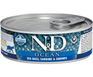 N&d cat ocean sea bass