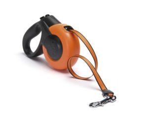 Guinzaglio mars small 5 m corda arancione.