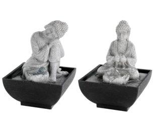 Fontana buddha cm 13x13x18h.