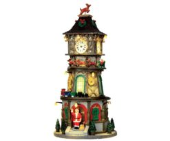 Christmas clock tower