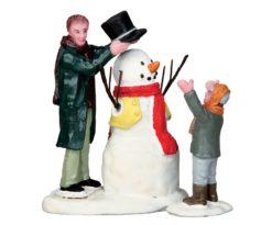 Sharp-dressed snowman