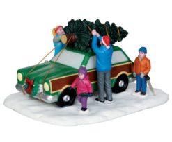 Christmas tree transport.