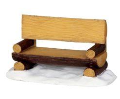 Log bench.