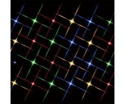 Super bright 24 multi color light string