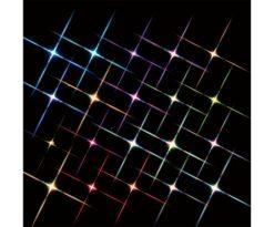 Super bright 20 multi color flashing light string