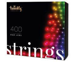 Twinkly è la rivoluzionaria stringa di luce a led che porta la tecnologia più avanzata alla tua decorazione di Natale.