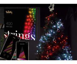 Twinkly porta la tecnologia più avanzata nella tua decorazione natalizia.