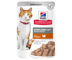 Hill's science plan feline sterilized young adult pollo 85 g.