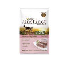 Nature's variety instinct cat no grain pouch adult salmone e patate 70 g.