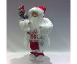 Santa claus rosso cm 23x17x47h.