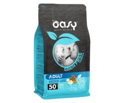 Oasy dry dog grain free adult medium/large pesce 2