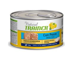 Trainer dog natural dog small&toy adult pesce & riso 150 g.