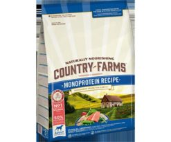 Country farms monoprotein adult salmone 2