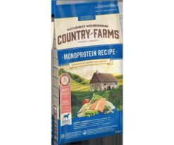 Country farms monoprotein adult salmone 10 kg.