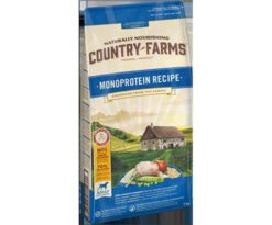 Country farms monoprotein adult pollo 11 kg.