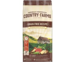 Country farms grain free adult manzo 11 kg.