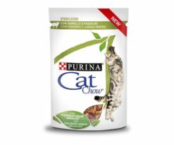 Cat chow sterilised agnello e fagiolini 85 g.