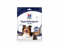 Hill's canine hypoallergenic 220 g treats.