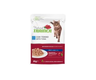 Trainer cat natural adult tuna 85 g busta.