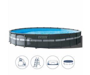 Intex piscina ultra xtr frame cm 549x132 pompa a sabbia