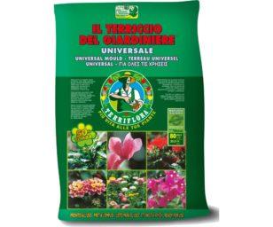Prodotto biologico. Per tutte le piante verdi e fiorite