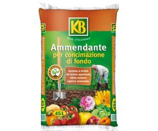 Ammendante organico misto a base di matrici organiche e materiali vegetali compostati ed elevato grado di umificazione.