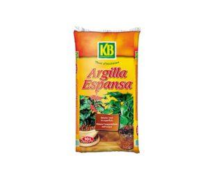 Argilla espansa adatta per la messa a dimora delle piante. Utile per la circolazione idrica all'interno dei vasi.