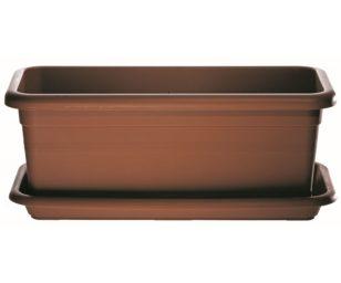 Sottovaso Rustica Maxi Cm 55 Terracotta.