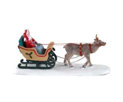Lemax North Pole Sleigh Ride.