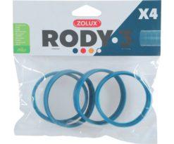 Anelli Di Connessione Rody3 Blu.