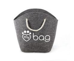 Record My Bag My Bed Borsa Grigio 52x25x39 Cm.