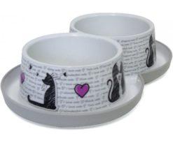 Ciotola Trendy Dinner Cat's In Love 350 Ml.