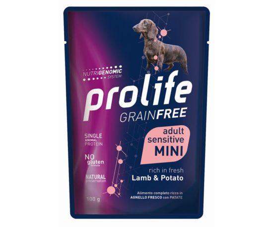 Prolife Dog Grainfree Sensitive Lamb & Potato 100 G.