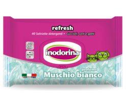 Salviette igienizzanti e profumate in tessuto resistente