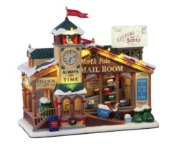 Lemax North Pole Mail Room