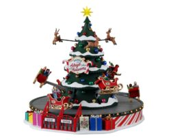 Lemax Santa's Sleigh Spinners