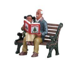 Lemax Christmas Stories.