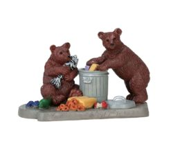 Lemax Bear Buffet.