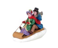 Lemax Victorian Toboggan Ride.