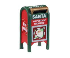 Lemax Christmas Mailbox.