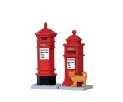 Lemax Victorian Mailboxes
