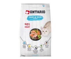 Ontario Cat Hair & Skin 400 G.