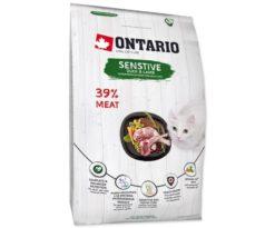 Ontario Cat Sensitive/derma 400 G.